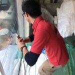 防犯リフォーム、小牧市での防犯フィルム・窓の主錠増設・玄関電子錠設置工事が完了。