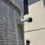 防犯リフォーム、豊田市での防犯カメラ・防犯フィルム・窓/玄関主錠増設工事が完了。