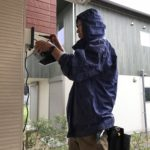 防犯リフォーム、春日井市でのセンサーライト・防犯面格子・高所対策工事などが完了。