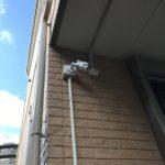 防犯リフォーム、名古屋市守山区、防犯カメラの設置工事が完了。