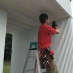 防犯リフォーム、一宮市での防犯カメラ・防犯窓鍵の設置工事が完了。