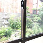 防犯リフォーム、名古屋市西区での防犯窓鍵の増設工事が完了。