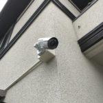 防犯リフォーム、名古屋市名東区での防犯カメラ新規設置工事が完了。