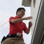 防犯リフォーム、北名古屋市での防犯カメラ設置工事が完了しました。