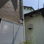 防犯リフォーム、半田市での防犯カメラの設置工事が完了。