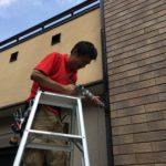 防犯リフォーム、稲沢市での高所防犯対策、防犯フィルム、窓/玄関/勝手口主錠増設工事などが完了。