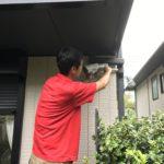 防犯リフォーム、名古屋市守山区での防犯カメラの設置工事が完了。