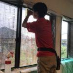 防犯リフォーム、長久手市、窓の防犯(防犯フィルム)・玄関の防犯(3ロック化)・高所防犯対策が完了。