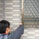 防犯リフォーム、桑名市での防犯フィルム/窓鍵・格子・忍び返しの設置工事が完了
