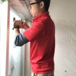 防犯リフォーム、岡崎市にて災害対策も踏まえた防犯フィルムの施工が完了。