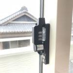 知立市での防犯リフォーム(防犯フィルム・窓鍵交換・窓鍵2ロック化)が完了。