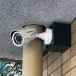 防犯リフォーム、日進市、マンション内各所に防犯カメラ設置工事が完了。