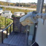 防犯リフォーム、名古屋市千種区、新築戸建てでの防犯カメラ工事が完了。
