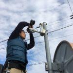 防犯リフォーム、愛西市、事務所&ご自宅への防犯カメラ設置工事完了。
