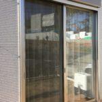 防犯リフォーム、名古屋市守山区での窓への防犯フィルム施工が完了。