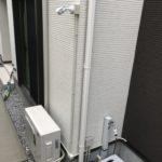 防犯リフォーム、名古屋市名東区での、お洒落な外観に配慮した防犯カメラ工事が完了。