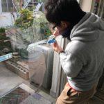 防犯リフォーム、名古屋市港区での防犯/断熱フィルム・防犯窓鍵設置工事が完了。