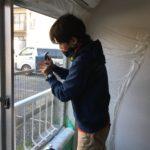 防犯リフォーム、岐阜県岐阜市での賃貸住宅への防犯対策工事が完了。