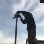 防犯リフォーム、岡崎市でのマンション及び駐車場への防犯カメラ設置工事が完了。