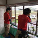 防犯リフォーム、愛知県一宮市での防犯フィルム・主錠増設工事が完了。