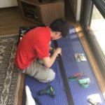 防犯リフォーム、愛知県一宮市での総合的な防犯対策工事が完了。