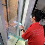 防犯リフォーム、愛知県尾張旭市での窓・玄関を中心とした防犯対策工事が完了。