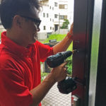 防犯リフォーム、名古屋市名東区での住宅全体を網羅する防犯対策工事が完了。