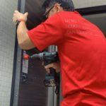 防犯リフォーム、岐阜県岐阜市、新築物件への防犯対策工事が完了。