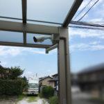 空き巣対策、愛知県豊橋市での新築戸建て防犯カメラ設置工事が完了。