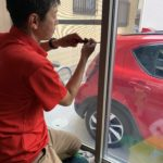 空き巣対策、名古屋市瑞穂区での新築戸建ての防犯対策工事が完了。