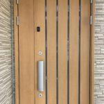 空き巣対策工事、岐阜県羽島郡、玄関・窓および2階への侵入を防ぐ防犯対策が完了。