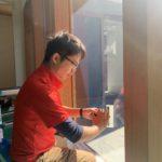 空き巣対策、岐阜県大垣市、新築戸建てへの防犯リフォーム工事が完了。