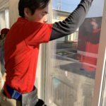 空き巣対策、岐阜県岐阜市、新築戸建てでの玄関・窓への防犯対策工事が完了。