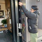 空き巣対策、愛知県知立市、家全体へのトータルな防犯対策工事が完了。