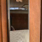 空き巣対策、長野県飯田市、玄関扉への電子錠設置工事が完了。
