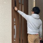 空き巣対策、愛知県尾張旭市、玄関・窓・2階部分の防犯リフォーム工事が完了。