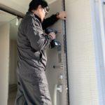 空き巣対策、名古屋市守山区、新築戸建てへの防犯対策工事が完了。