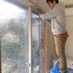 空き巣対策、愛知県北名古屋市、玄関・窓を中心とした防犯対策工事が完了。