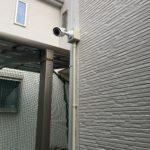 防犯・いたずら対策、名古屋市中川区での監視カメラ設置工事が完了。