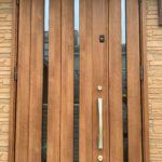 空き巣対策、三重県桑名市、防犯窓鍵・忍び返し・玄関3ロック設置工事が完了。