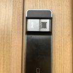 住まいの空き巣対策、愛知県日進市での玄関への電子錠設置工事が完了。