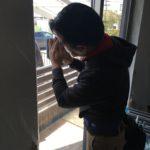 空き巣対策、名古屋市守山区、電子錠・勝手口錠増設・防犯フィルム/窓鍵設置工事が完了。