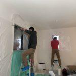 空き巣対策、愛知県あま市、電子錠・防犯フィルム・防犯窓鍵施工工事が完了。