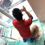 空き巣対策、名古屋市北区、新築戸建てへのトータルな防犯対策工事が完了。