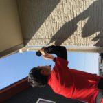空き巣対策、愛知県稲沢市、防犯フィルム/窓鍵・主錠増設・忍び返し設置施工が完了。