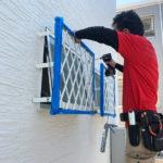 空き巣対策、三重県桑名市での窓と玄関エリアを重点的に防犯対策工事を実施。