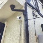 いたずら対策、愛知県みよし市での防犯カメラ設置工事が完了。