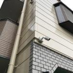 安全対策、愛知県豊橋市での監視カメラ設置工事が完了。