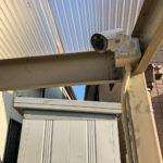 防犯対策、名古屋市守山区、玄関・駐車場周りを監視する防犯カメラ設置工事が完了。