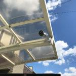 いたずら対策、愛知県春日井市での駐車場への防犯カメラ設置工事が完了。